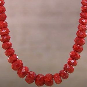 JAY KING Red Coral Necklace